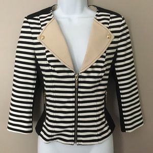 NEW W/ TAGS!  Gorgeous WHBM zip-up jacket